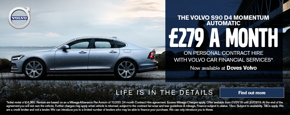 Volvo S90 D4 Momentum Offer