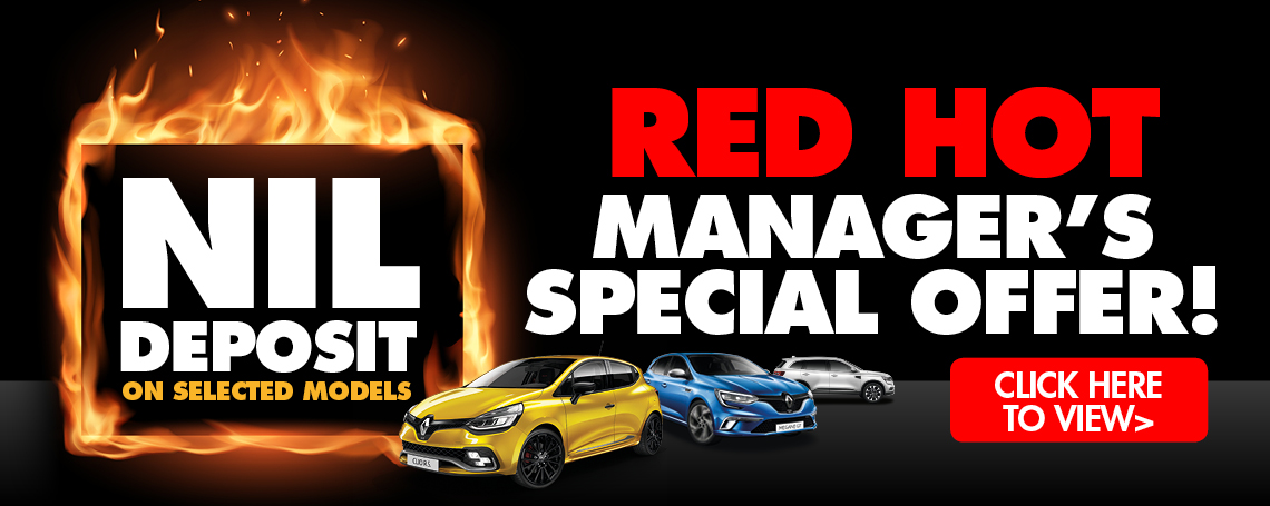 BURY MOTORS MANAGER'S SPECIAL OFFER