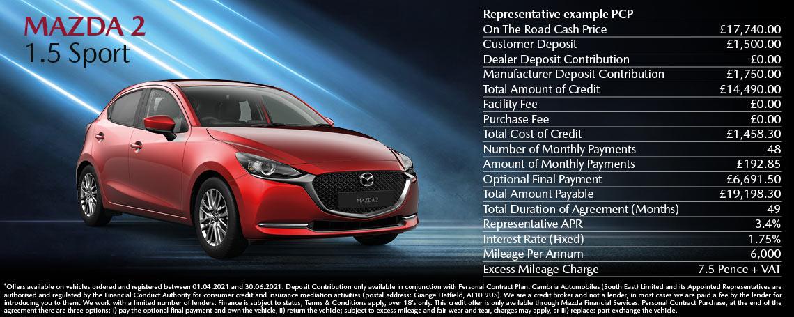 Mazda 2 Offer