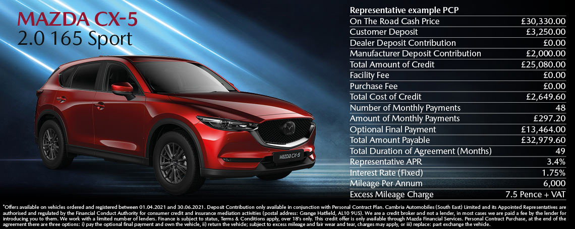 New Mazda CX-5 Offer