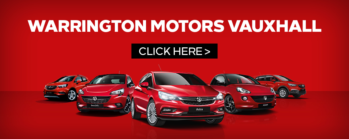 Warrington Motors Vauxhall Now Open
