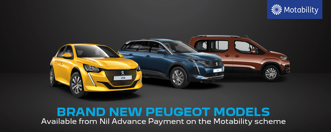 Peugeot Motability Offers