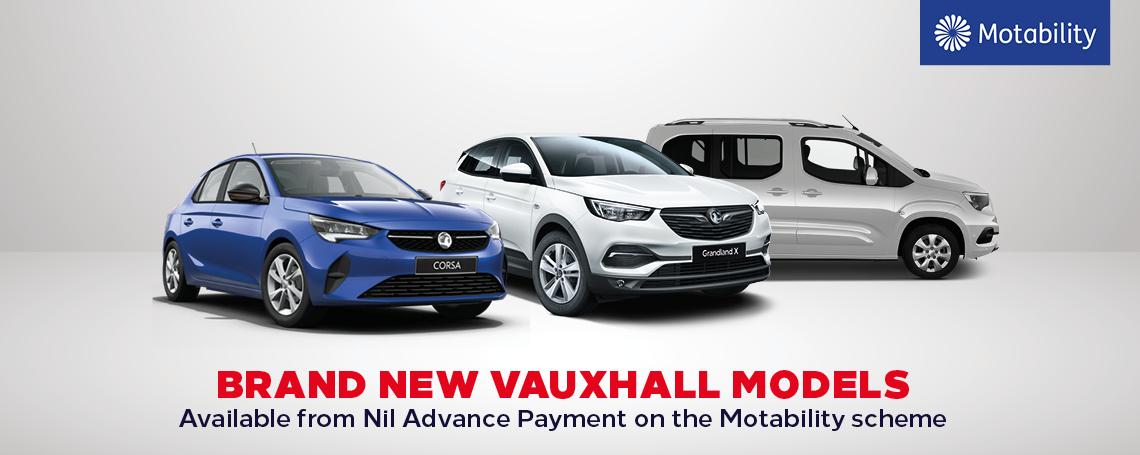 Vauxhall Motability Offers