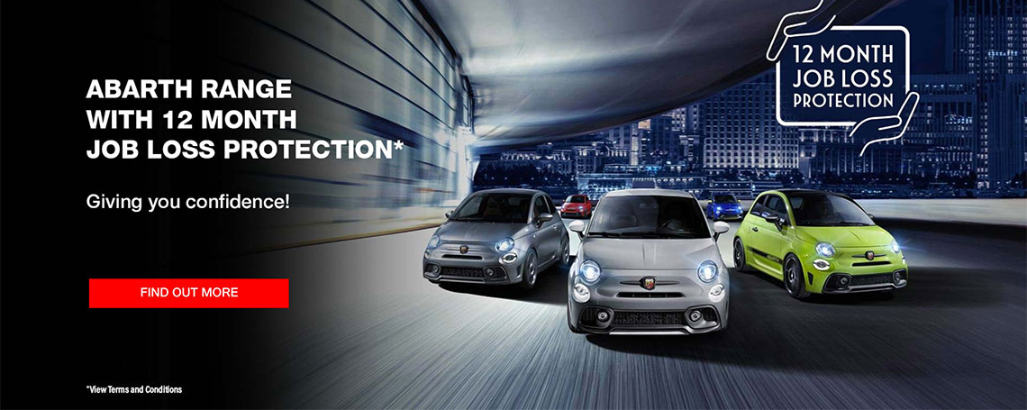 Abarth 12 Month Job Protection Offers