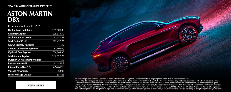 New Aston Martin DBX
