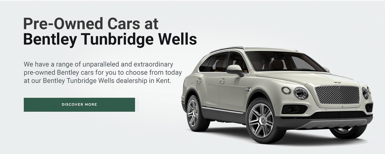 Bentley Tunbridge Wells - Now Open