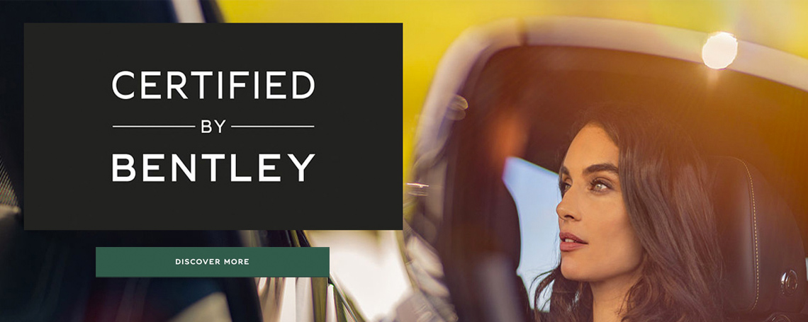 Bentley Chelmsford - Certified by Bentley