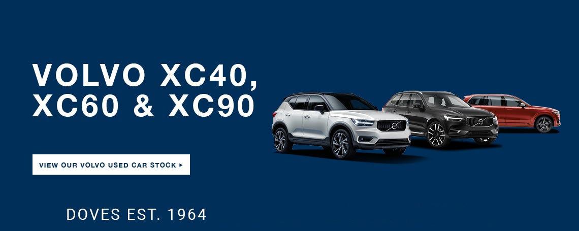 Doves Volvo SUV Range