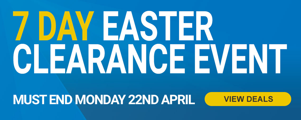 7 Day Easter Clearance Event