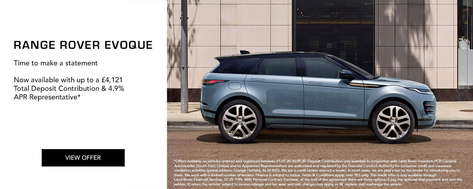 Range Rover Evoque Offer