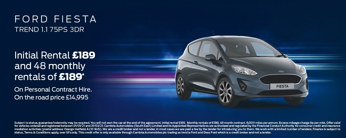Ford Fiesta Trend Offer