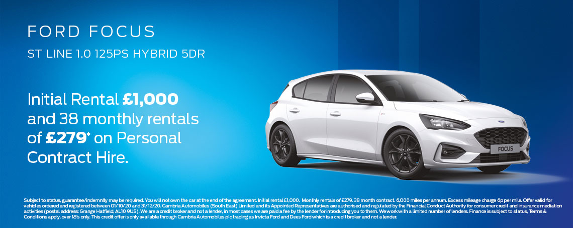 Ford Focus Offer