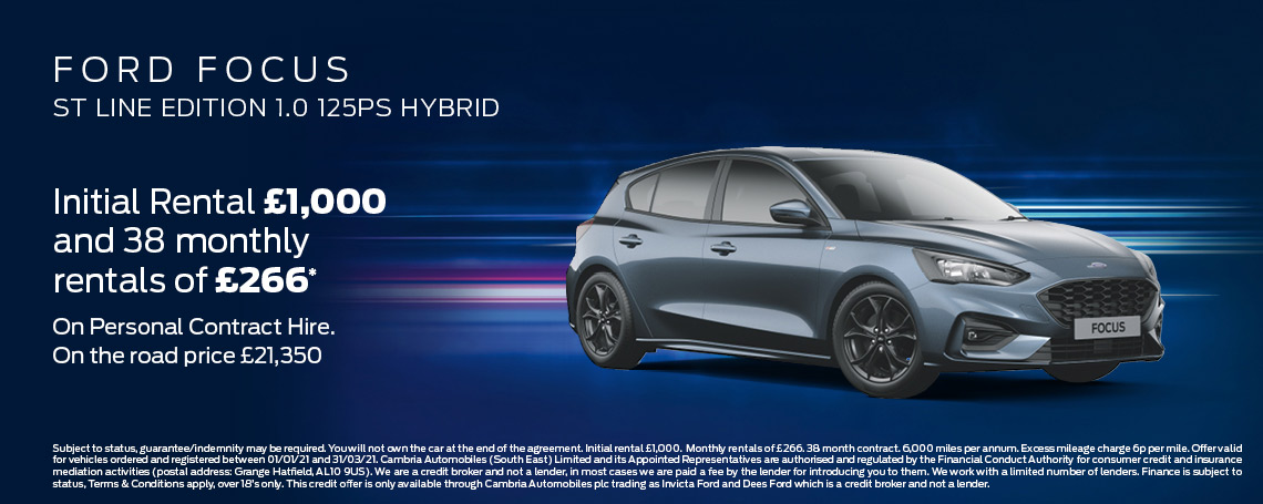 Ford Focus Offer
