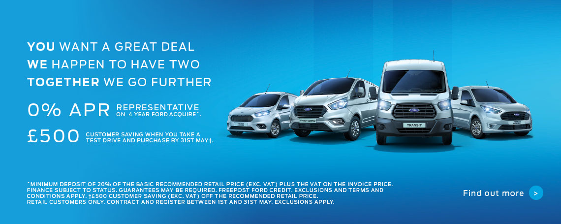 0% APR Representative Ford Commercial Offers