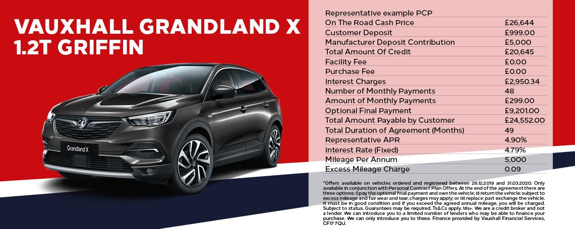 Vauxhall Grandland X 1.2 Griffin