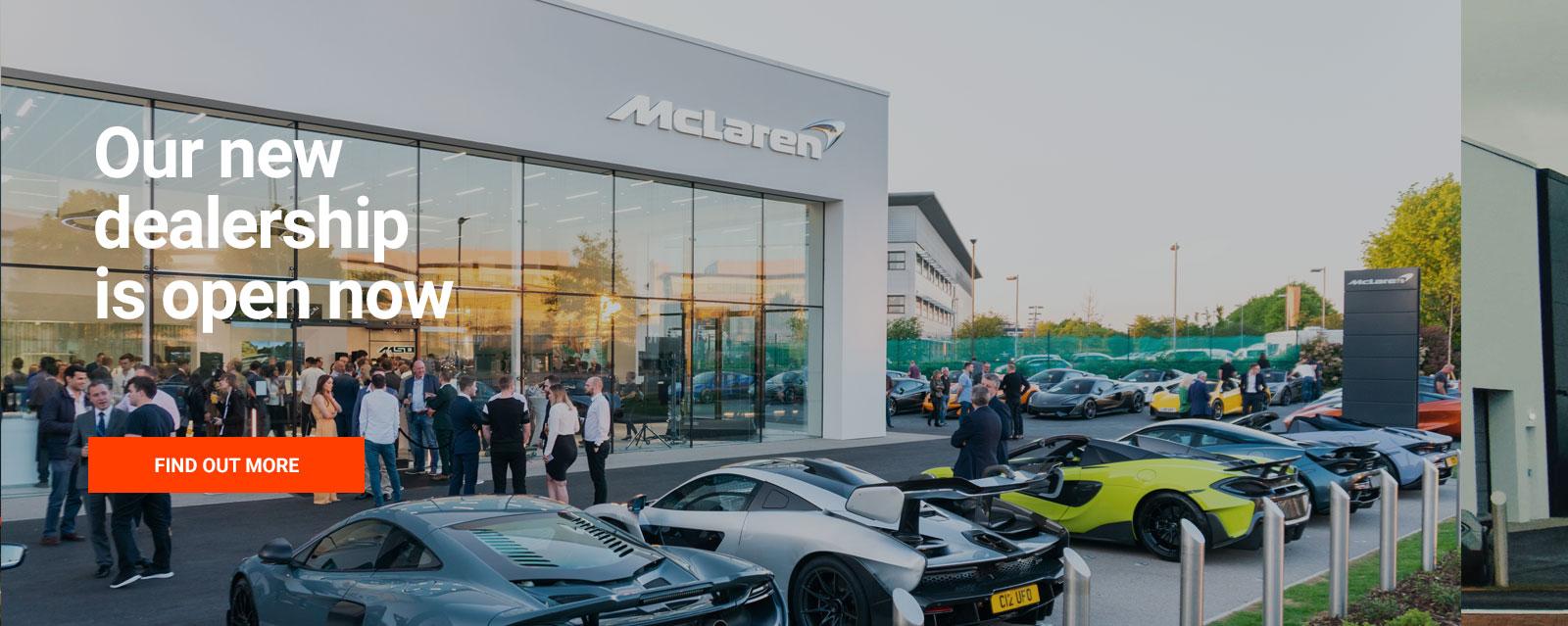 Grange McLaren Hatfield Opens