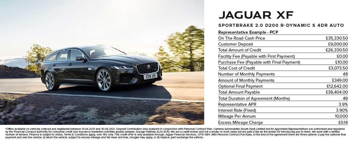 Jaguar XF Sportbrake Offer