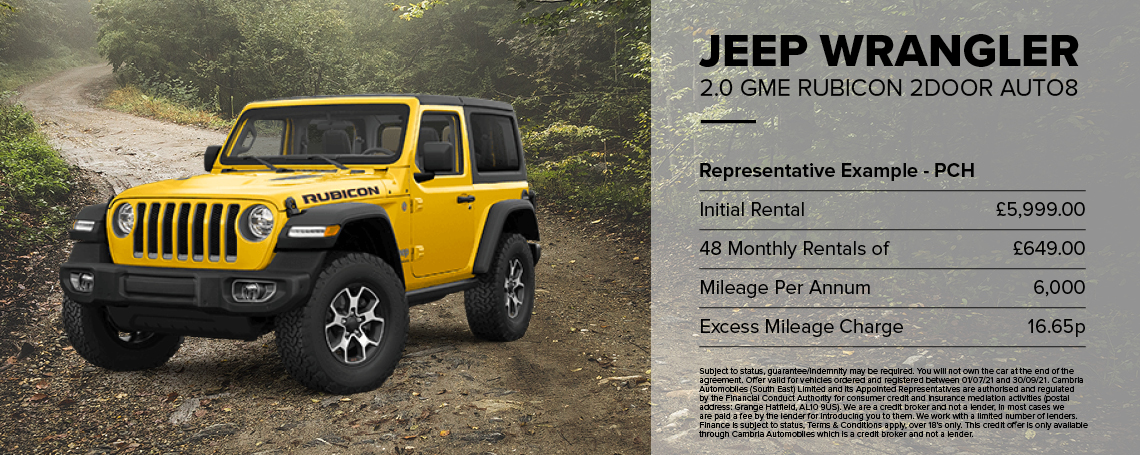 New Jeep Wrangler 2DR Rubicon 2023 Q1 Offer
