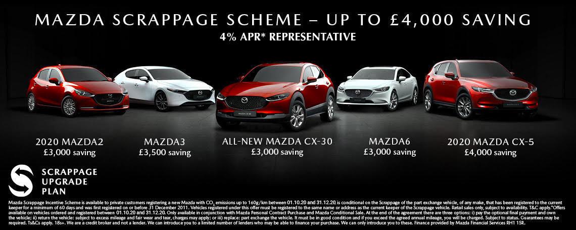 Mazda Scrappage