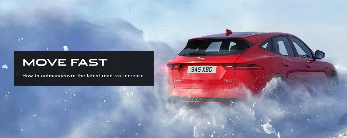 Beat The Tax Increase - Jaguar Cars