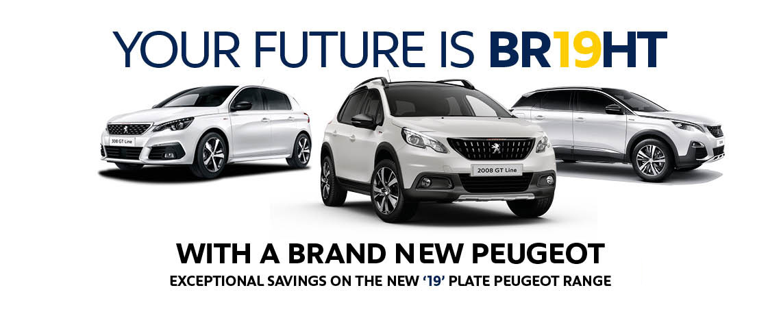 19 Plate Peugeot Cars at Motorparks