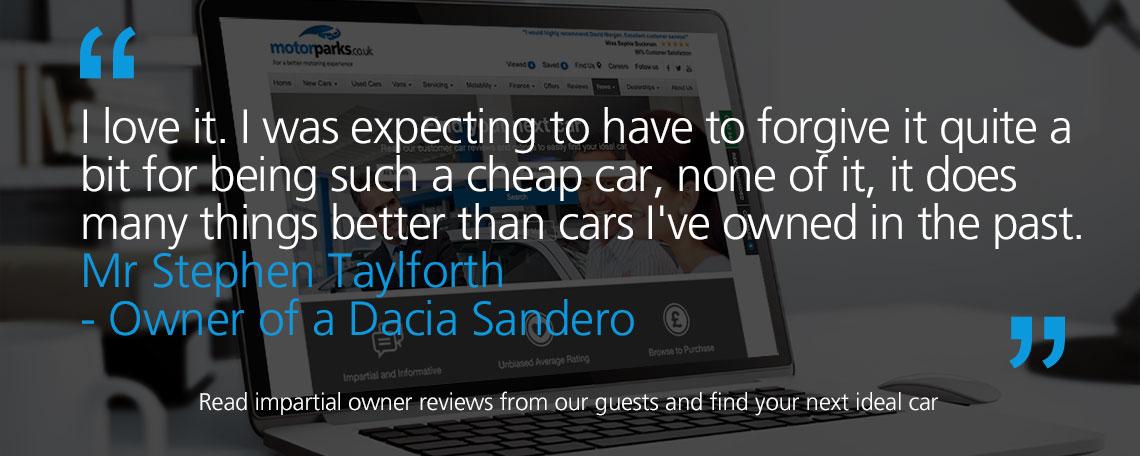 Dacia Sandero Owner Reviews