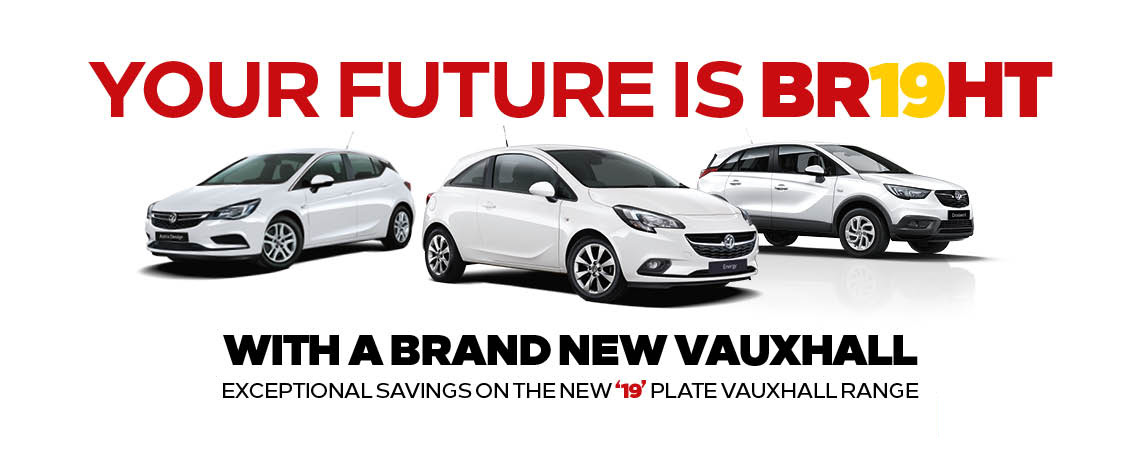19 Plate Vauxhall Cars at Motorparks