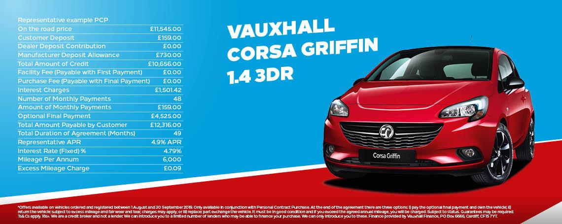 Vauxhall Corsa PCP