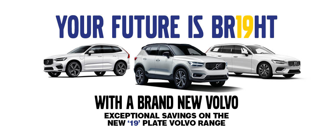 19 Plate Volvo Cars at Motorparks