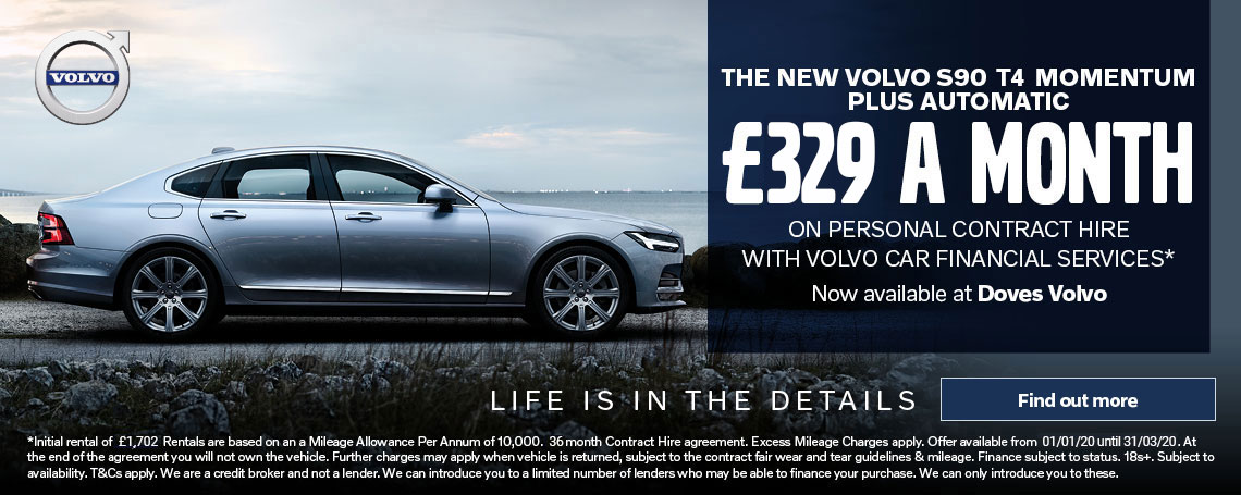 Volvo S90 Momentum Offer