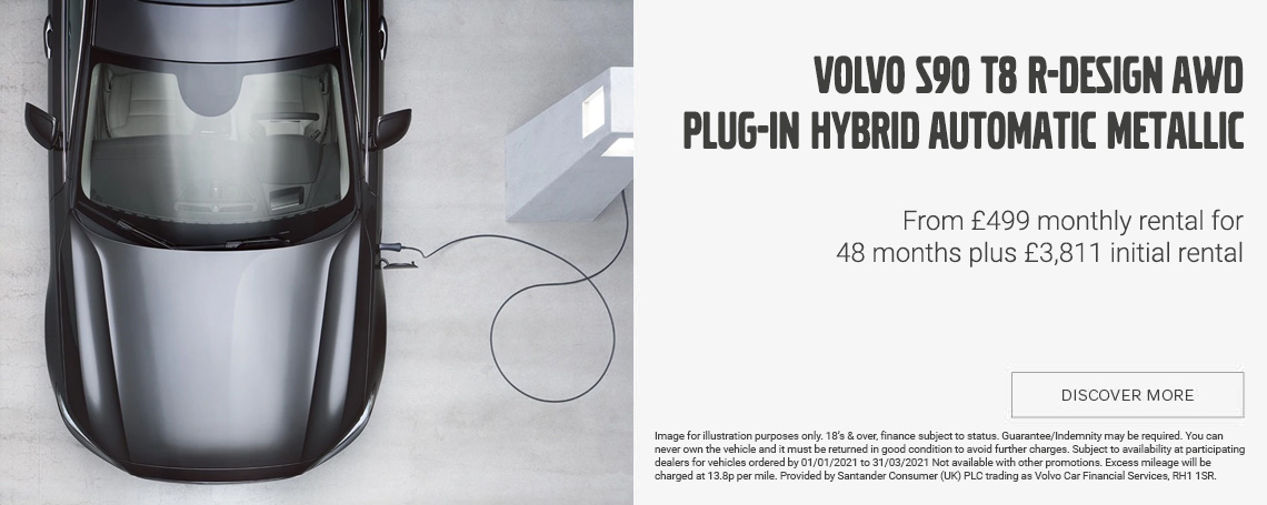 Volvo S90 R-Design Plug-in Hybrid Offer