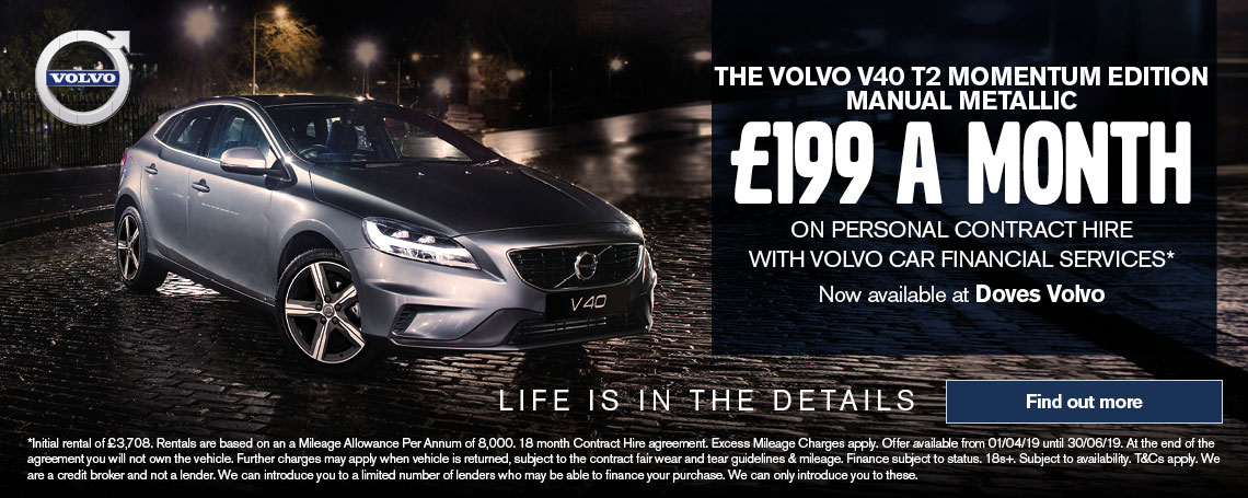 Volvo V40 T2 MOMENTUM Offer