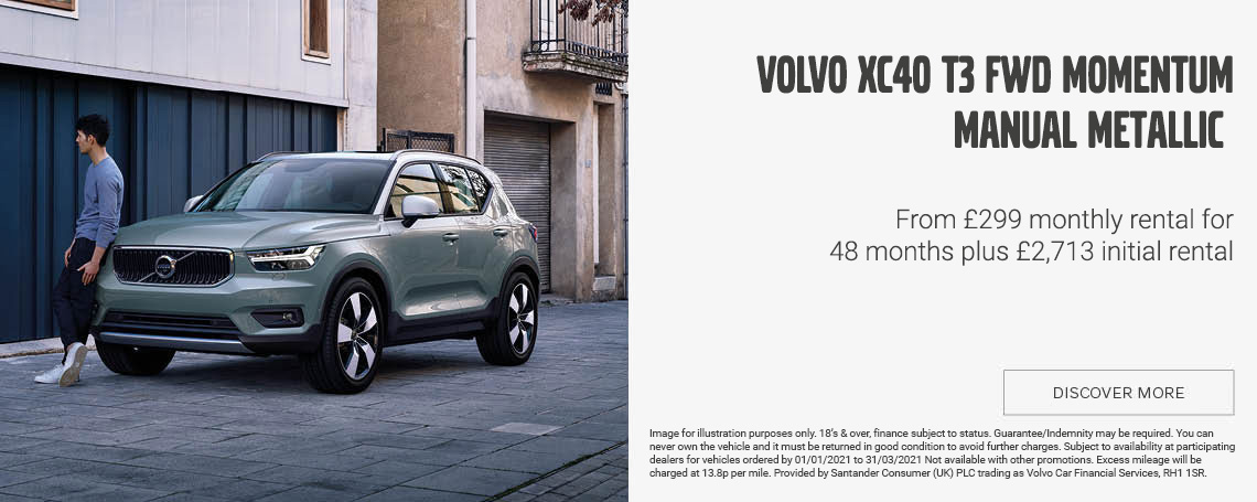Volvo XC40 T3 FWD MOMENTUM Offer