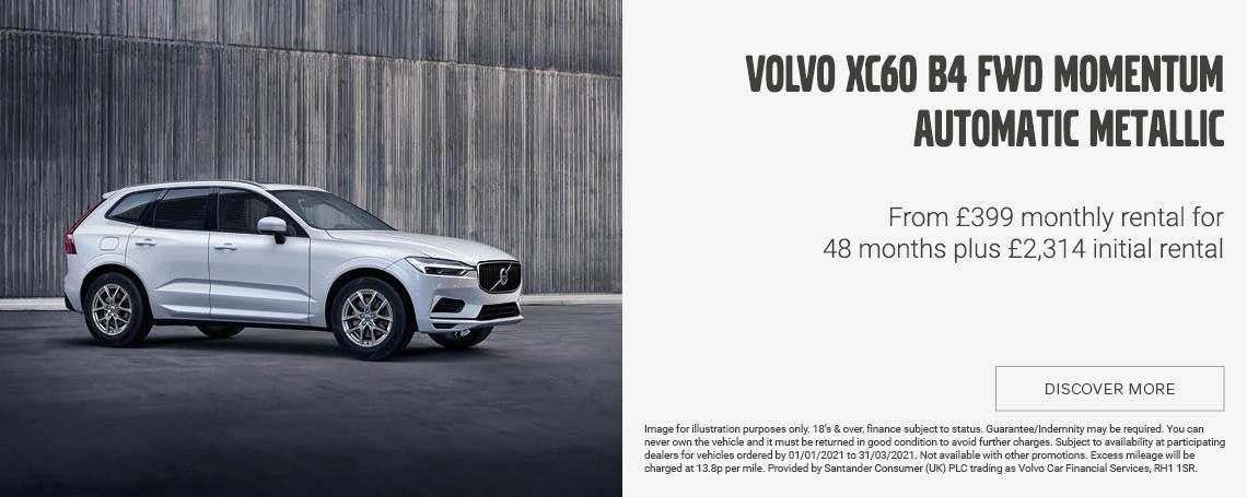 Volvo XC60 Momentum Offer