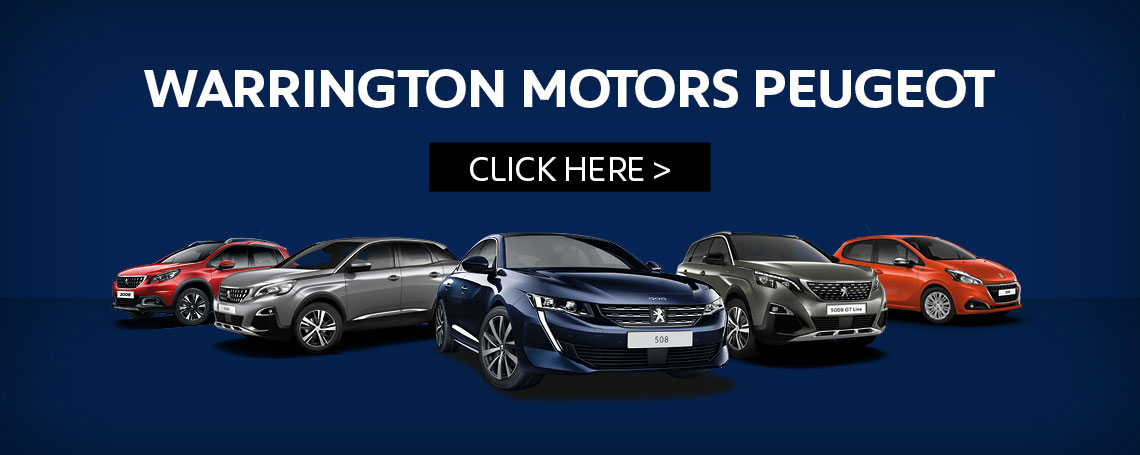 Warrington Motors Peugeot Now Open