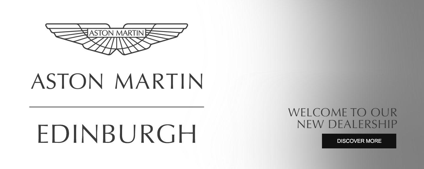 Grange Aston Martin Edinburgh - Now Open