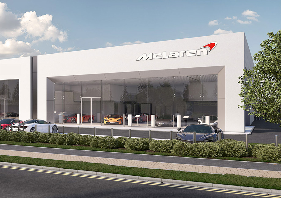 Our Dealerships Grange Mclaren