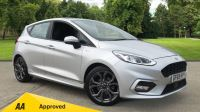 Ford Fiesta 1.0 EcoBoost ST-Line 5dr with DAB Radio and Keyless Start Hatchback available from Land Rover Swindon thumbnail image