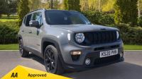 Jeep Renegade 1.0 T3 GSE Night Eagle II 5dr - Satellite Navigation, Parking Sensor & DAB Radio Hatchback (2020) available from Doves Vauxhall Southampton thumbnail image