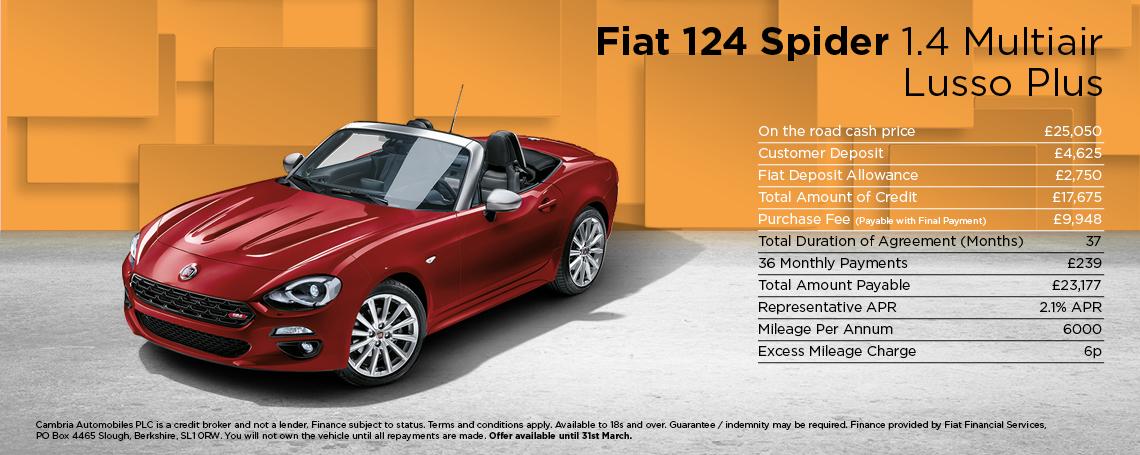 new fiat 124 spider cars motorparks. Black Bedroom Furniture Sets. Home Design Ideas