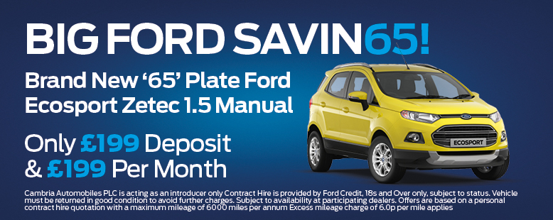 Ford Ecosport Offer