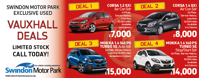 Used Vauxhall Deals