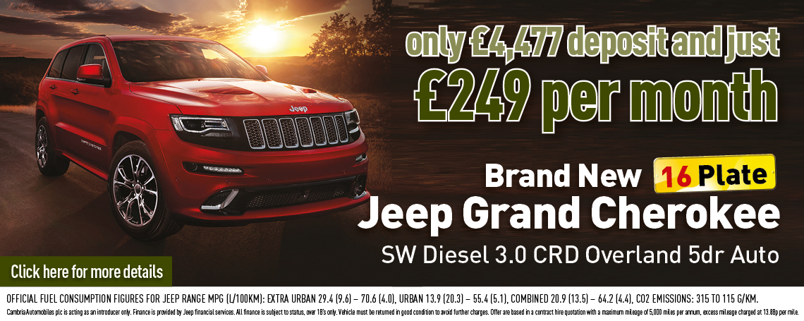 New Jeep Grand Cherokee Offer