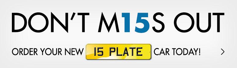 15 Plate Car Deals