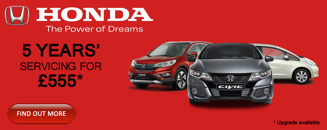 Honda Servicing offer