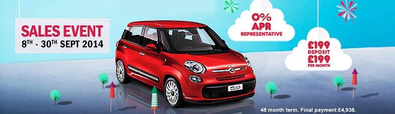 Fiat 500L Event