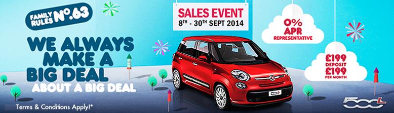 FIAT 500l Sales Event