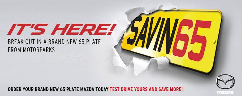 65 Plate Mazda Car Deals
