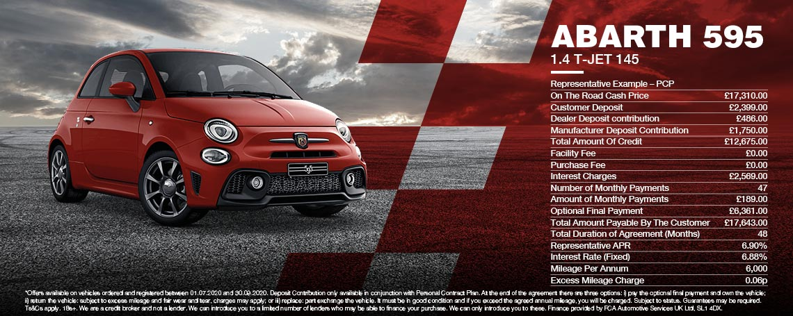 Abarth 595 1.4 T-JET 145 Offer