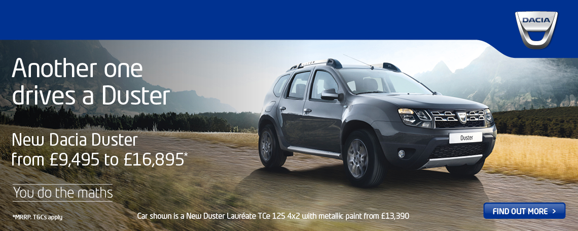 New Dacia Duster 2017 Q1